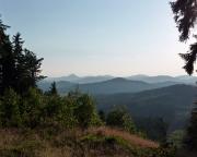 Knoflik - Geocaching im Lausitzer Gebirge - Abendstimmung
