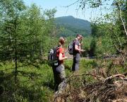 Knoflik - Geocaching im Lausitzer Gebirge - unterwegs am oder im Knopf