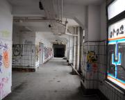 VEB Fleisch- und Feinkostkombinat Berlin - endlose Gänge durch das Gebäude
