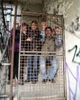 VEB Fleisch- und Feinkostkombinat Berlin - Albereien im Treppenhaus