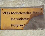 Erstes Ziel an diesem Wochenede -  VEB Furnierwerk Berlin in Karlshorst