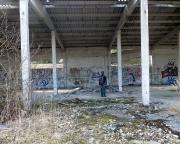 Auf den Spuren von Aljoscha - Überreste der Panzergaragen
