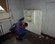 Alles will untersucht sein, hier z.B. ein Heikörper mit einem eingebauten Schrank