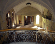 Sophienheilstätte – Blick in die ehemalige Kirche der Klinik
