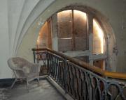 Sophienheilstätte – auf dem Balkon in der Klinikkapelle