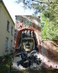 Lost Place Geocache Stadt im Wald, Ehrenmal für Juri Gagarin