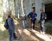 Lost Place Geocache Stadt im Wald - vor den Kasernen