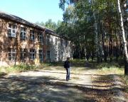 Lost Place Geocache Stadt im Wald - Lazarett