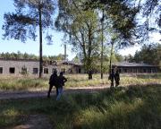Lost Place Geocache Stadt im Wald- Versorgungstrakt
