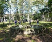 Lost Place Geocache Stadt im Wald - am ehemaligen Brunnen