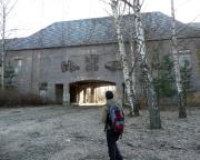Unterwegs beim Lost Place Geocache Wladimir Iljitsch Uljanow im Kummersdorfer Gut