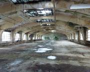 Industriebaukultur einer einst blühenden Tuchindustrie – oberste Etage