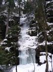 Am Eisfall im nördlichen Uttewalder Grund