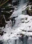 Eisfall im nördlichen Uttewalder Grund
