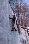 Bielatal, hintere steile Eisfälle