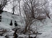 Bildeindrücke der vorderen Eisfälle bei Hohnstein