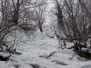 Eindrücke der vorderen Eisfälle bei Hohnstein