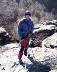 Der Klettertag kann beginnen - Klettern an der Zschirnsteinwarte
