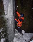Und wieder nächster Versuche - Uttewalder Grund, aber hier tropft das Eis, es ist nass