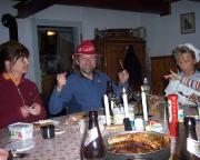 ... wer gut feiert, muss auch gut essen ...