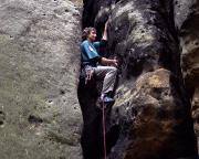 Fechi im Alten Weg, II, am Gipfel Vandale