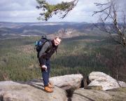 Herrlichste Aussichten vom Fremdenweg am Kleinen Winterberg