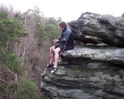 Auf dem Waldturm im Bielatal