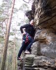 Wiese beim Klettern an den Wiesensteinen - das hat doch was, oder?