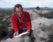 Ganz sicher eines der schönsten Gipfelbücher des gesamten Gebirges