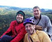 Und noch ein Gipfelfoto vom Knochenturm