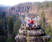 Auf dem Schweizermühlensturm