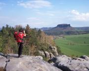 Unterwegs auf dem Rauschenstein in herrlicher Frühlingslandschaft