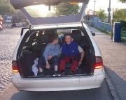 Wenn es nicht anders geht: Taxifahrt im Kofferraum