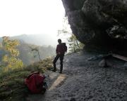 Herbststimmung am Langen Horn im Großen Zschand