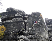 Klettern am Großen Edelweißturm, Südrippe III*