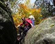 Wechsel von den Edelweißtürmen zum Hickelkopf über den Thorwalder Gratweg