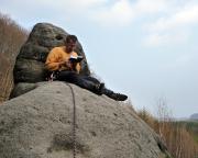Auf dem Gipfel der Kuhstallscheibe