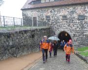 Besuch auf der Burg Stolpen