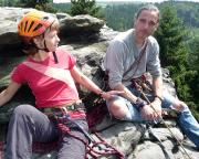 Christiane und Fechi auf dem Wiesenkopf