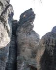Tisaer Wände - Abseilen von der Froschkrone, ein recht hohes Krönchen