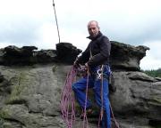 Ralf auf dem Gipfel des Schweizermühlenturms
