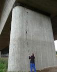 Master of the Bridge - ein T5-Geocache in Pirna - auf T1-Weise geklärt ;)