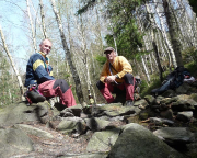 FDGB-Reise - Rast vor der Kletterei am Nußknacker
