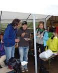 Bei strömenden Regen beim Kirnitzschtalfest 2011