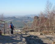 Am Tag danach: Sonniger 1. Advent auf dem Lilienstein