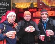 Das haben wir uns echt verdient - Glühwein auf dem Weihnachtsmarkt auf der Festung Königstein