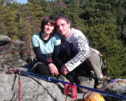 Tour 01-2012 - auf dem Gipfel der Nikolsdorfer Nadel