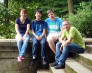 Ein Foto von unserem Besuch im Branitzer Park, kurz vor dem Start in das Wochenende