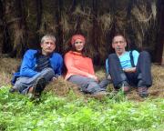 Regenpause in böhmischen Wäldern