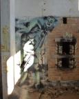 Lost Place-Geocaching - und wieder einmal: Kunst am verlassenen Platz